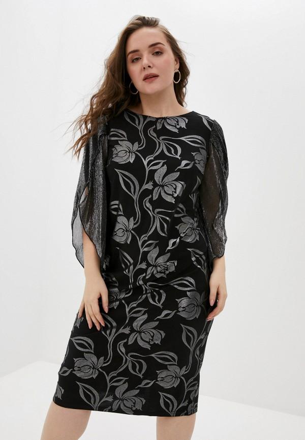 женское вечерние платье olsi, черное