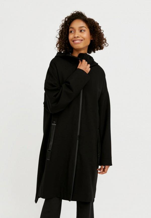 женское пальто finn flare, черное