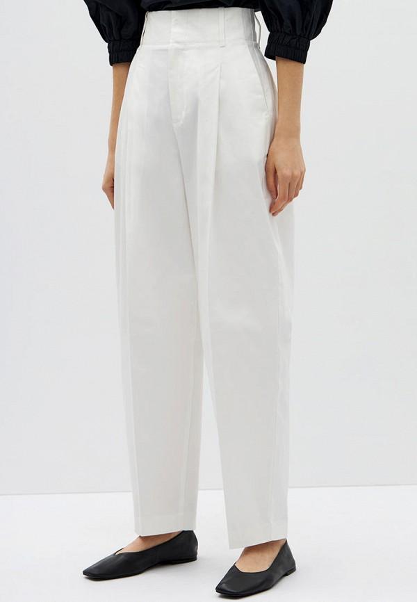 женские повседневные брюки lime, белые