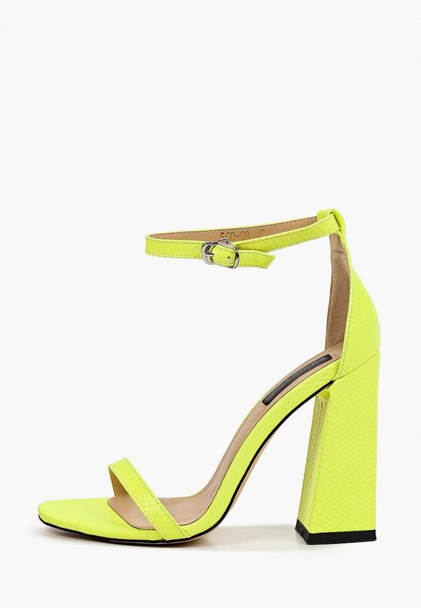 женские босоножки marco bonne', зеленые