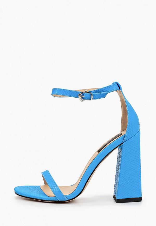 женские босоножки marco bonne', голубые