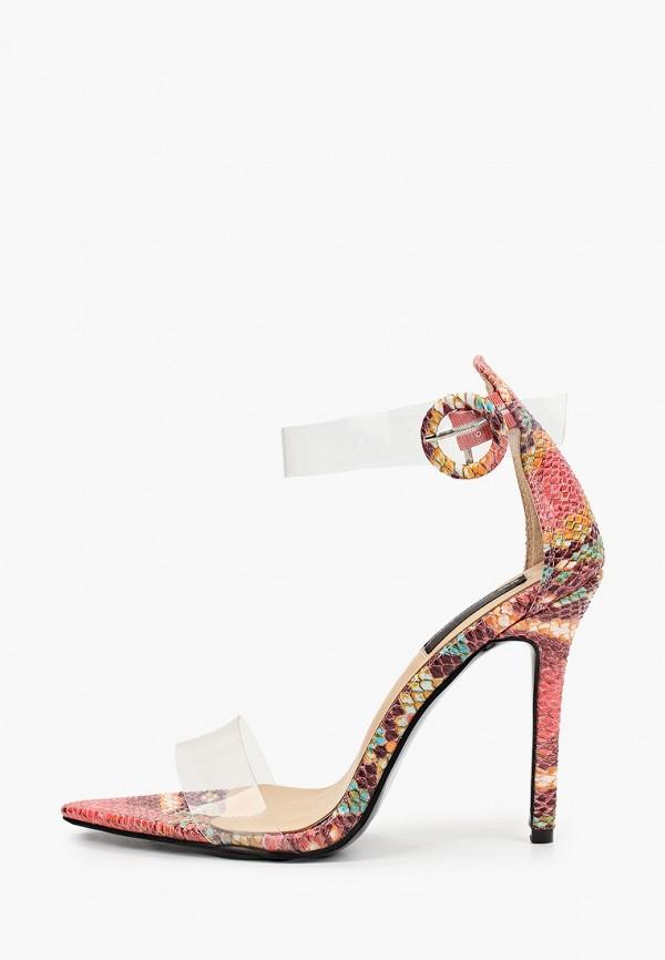 женские босоножки marco bonne', разноцветные