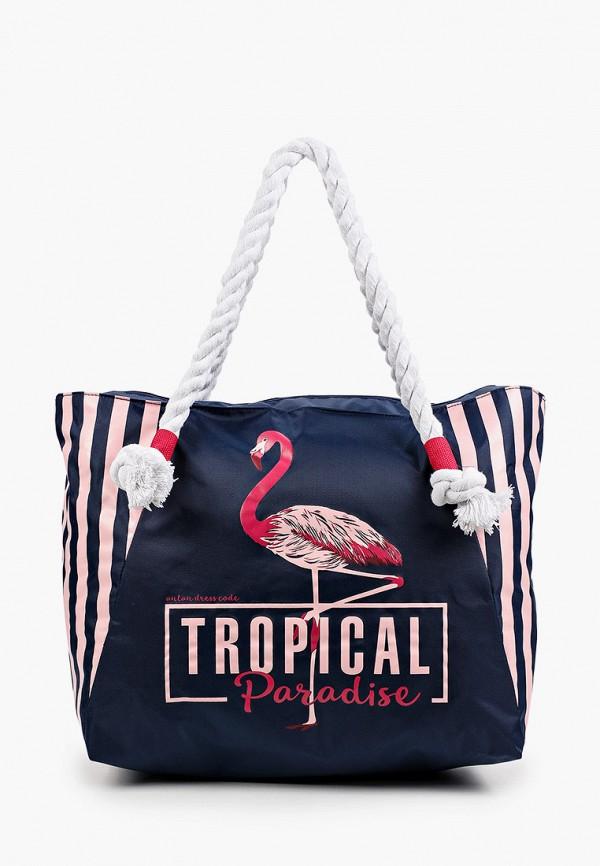 женская пляжные сумка antan, синяя