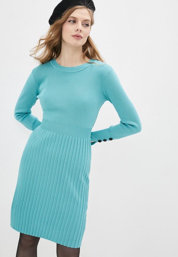 Платье Grafinia бирюзового цвета