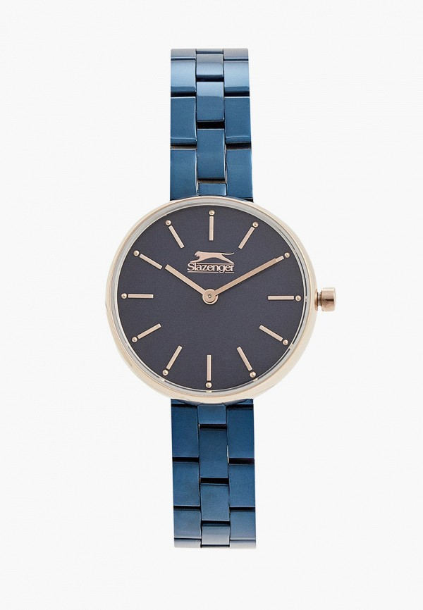 женские часы slazenger, синие