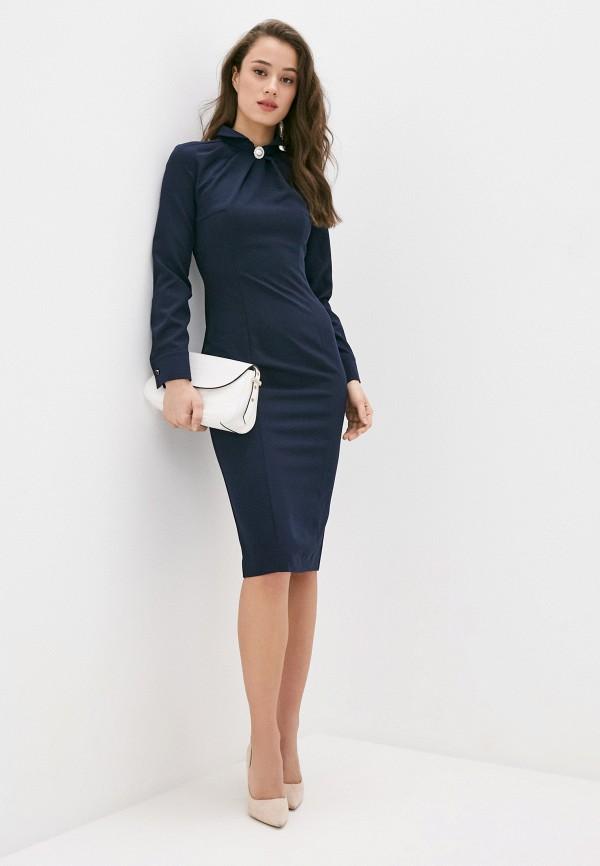 женское джинсовые платье bezko, синее