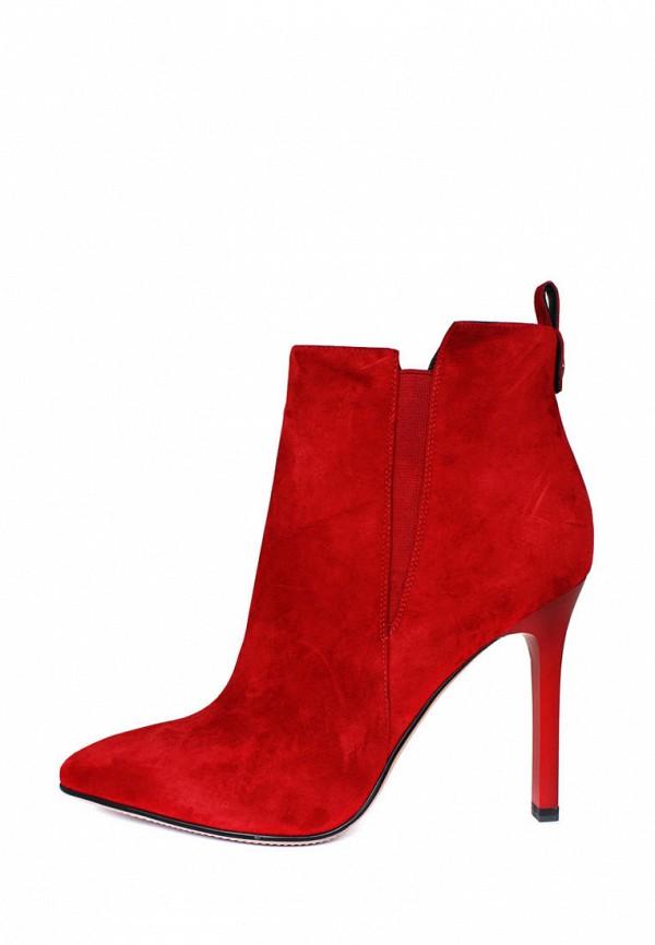 женские ботильоны blizzarini, красные