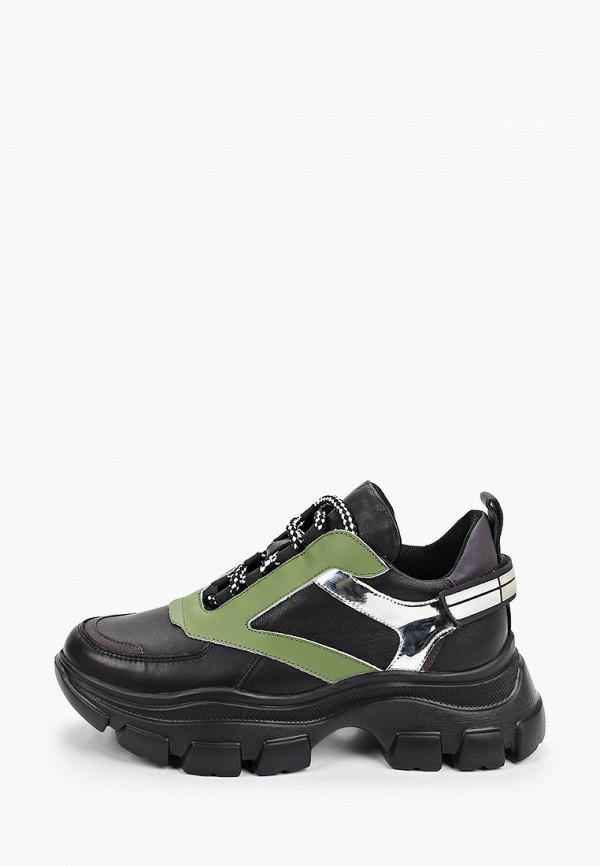 женские низкие кроссовки stivalli, черные
