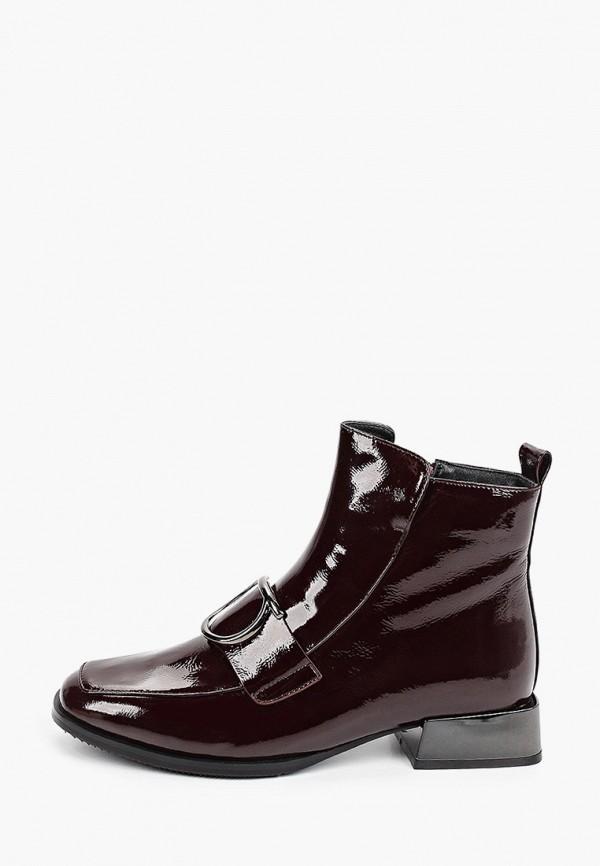 женские высокие ботинки stivalli, бордовые