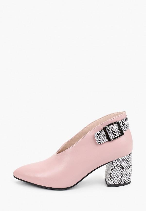 женские туфли с закрытым носом stivalli, розовые