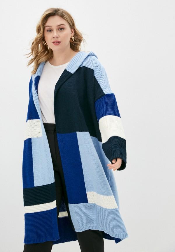 женский кардиган milanika, синий