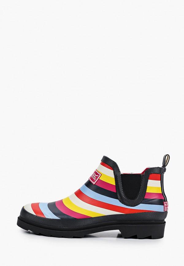 женские резиновые сапоги regatta, разноцветные