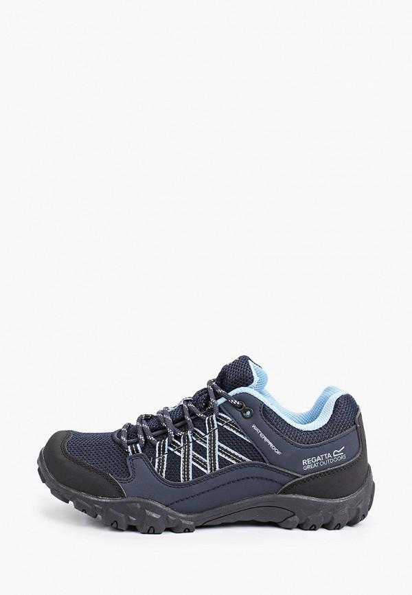 женские низкие кроссовки regatta, синие