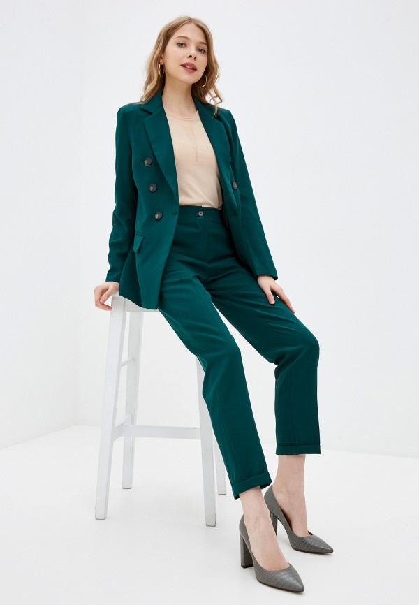женский костюм elardis, зеленый