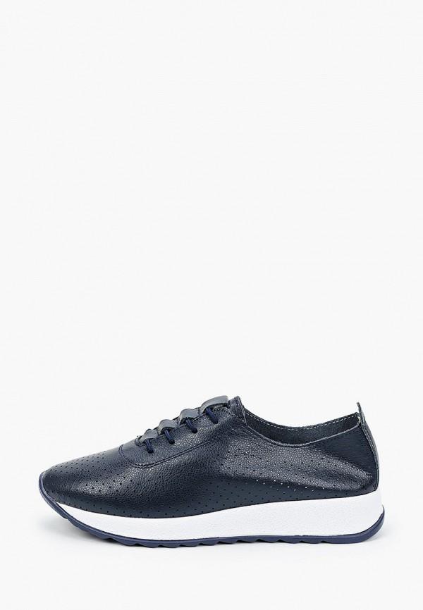 женские низкие кроссовки boogie woogie, синие