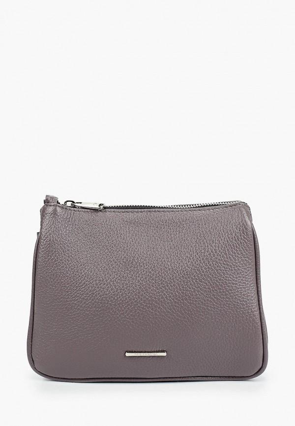женская сумка через плечо fiato, фиолетовая