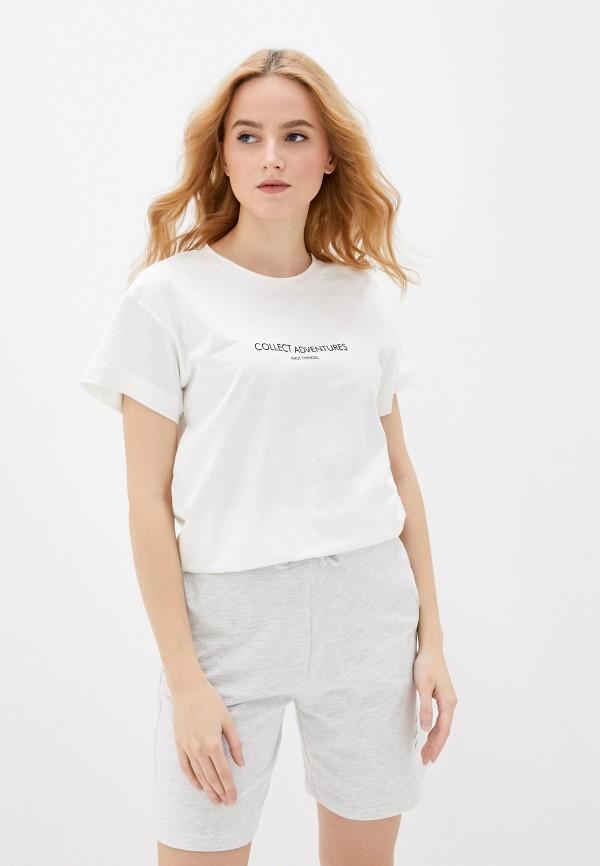 женская футболка vittoria vicci, белая