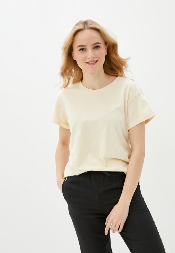 женская футболка vittoria vicci, желтая
