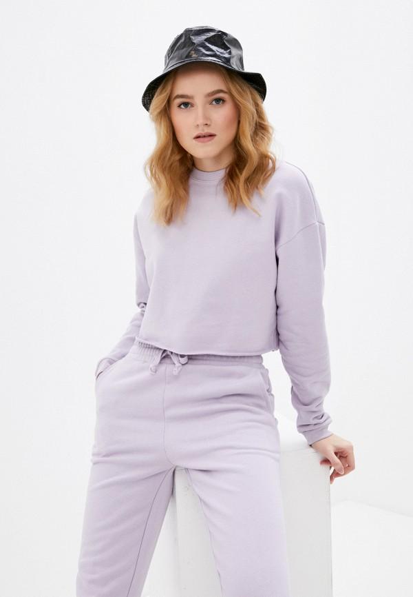 женский свитшот vittoria vicci, фиолетовый