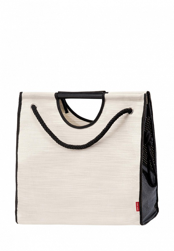 женская пляжные сумка casy home, бежевая
