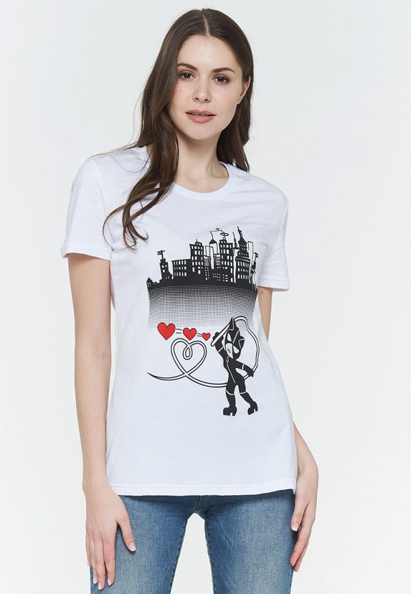 женская футболка vay, белая