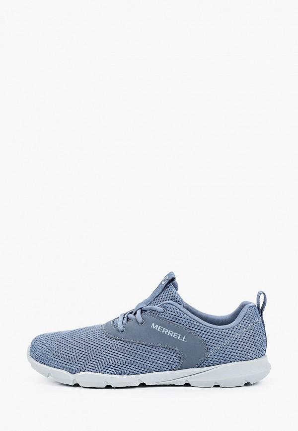 женские низкие кроссовки merrell, голубые