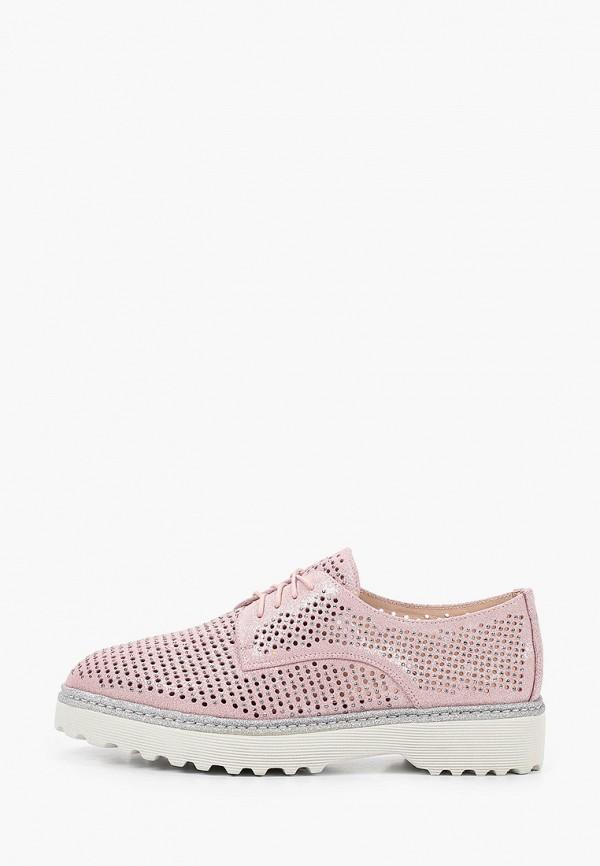 женские низкие ботинки mascotte, розовые