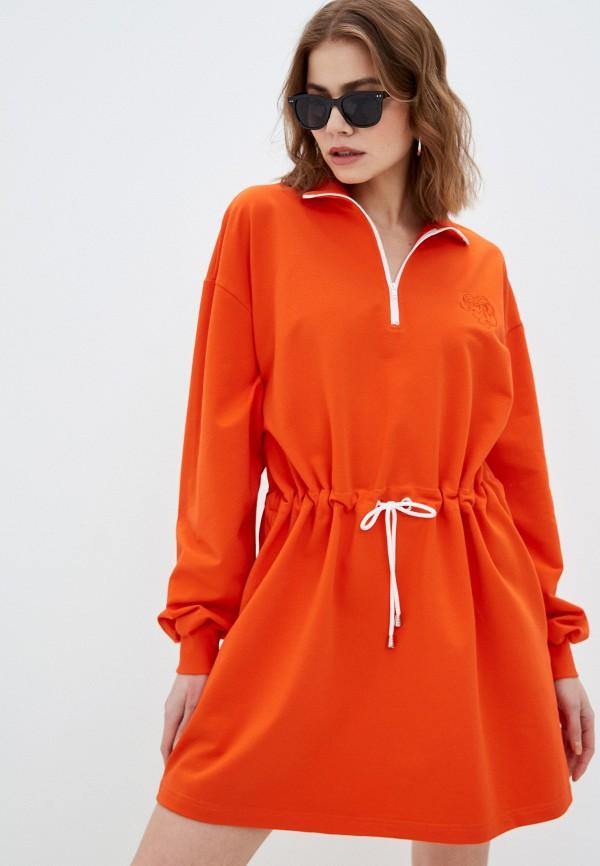 Платье Anastasya Barsukova Anastasya Barsukova  оранжевый фото