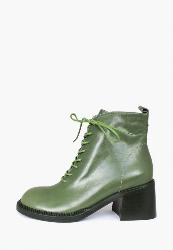 женские ботильоны blizzarini, зеленые