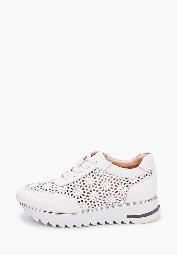 женские низкие кроссовки basconi, белые