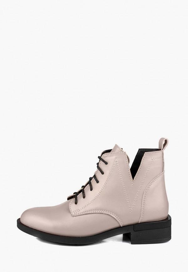 женские ботинки r&y, бежевые