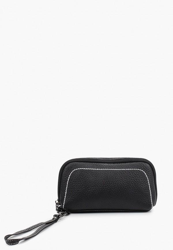 женский кошелёк dda, черный