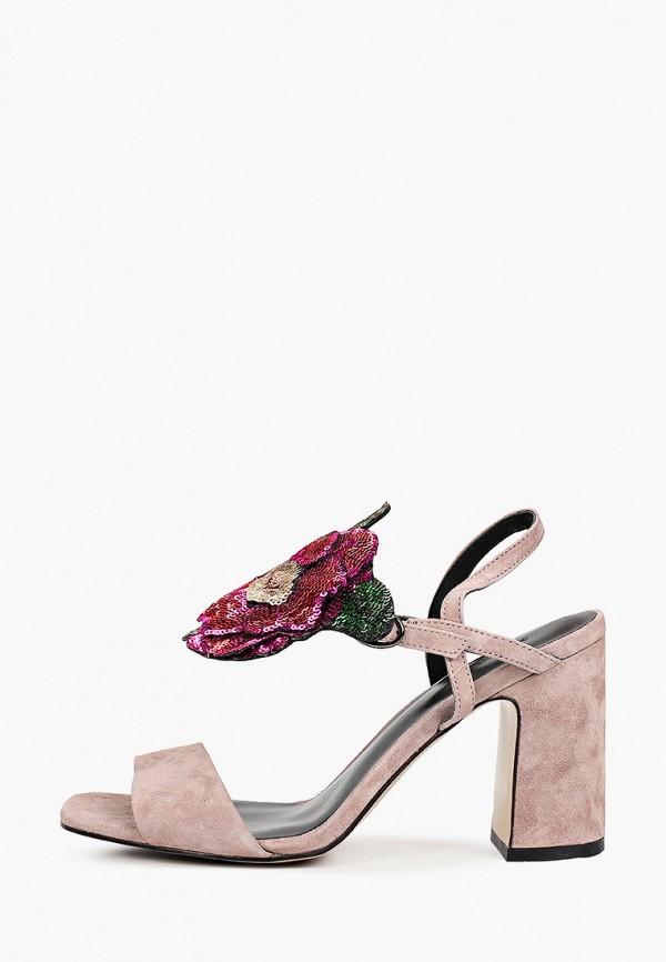 женские босоножки mascotte, розовые