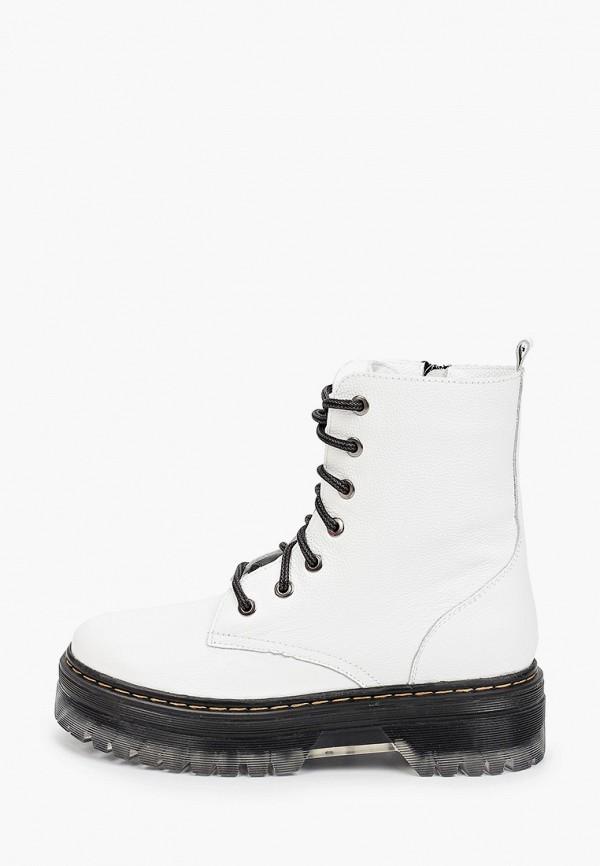 женские высокие ботинки calipso, белые