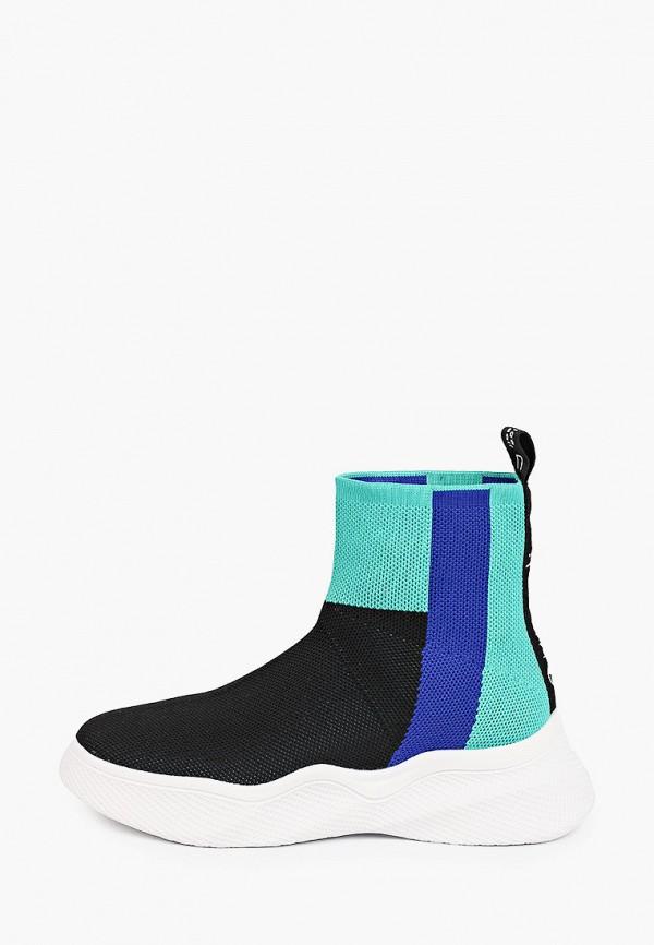 женские высокие кроссовки calipso, разноцветные