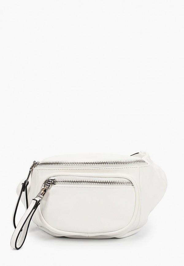 женская поясные сумка keddo, белая