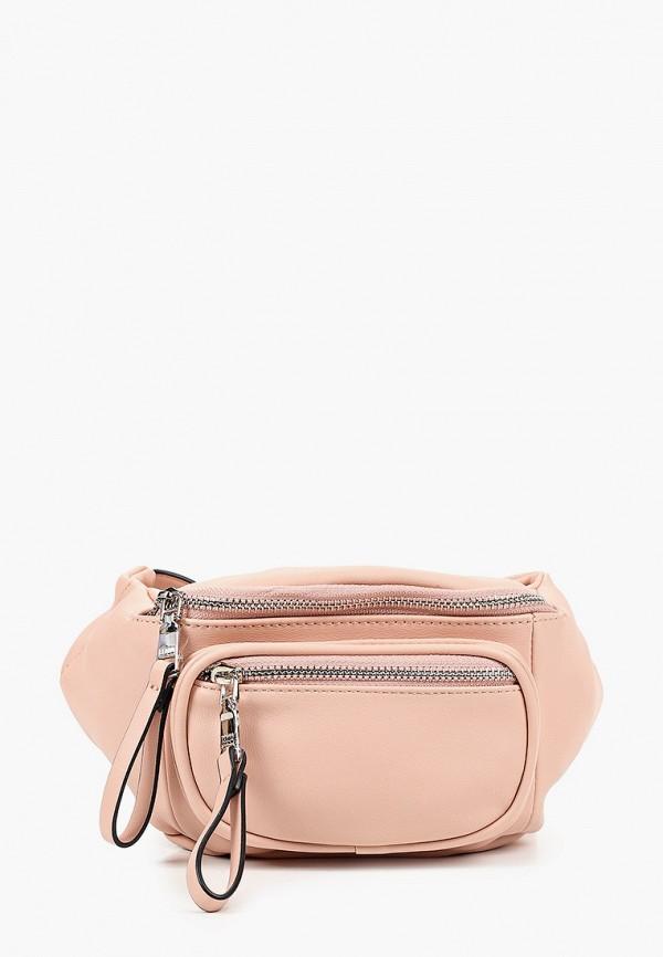 женская поясные сумка keddo, розовая