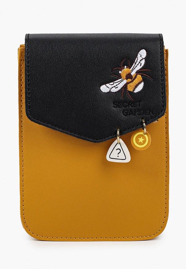 женская сумка через плечо keddo, оранжевая