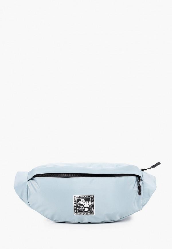 женская поясные сумка keddo, бирюзовая