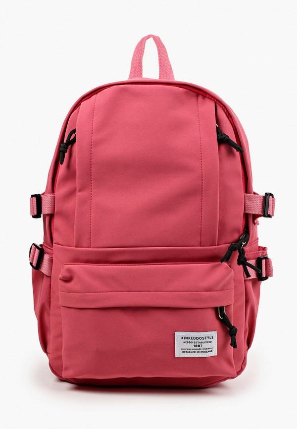 женский рюкзак keddo, розовый