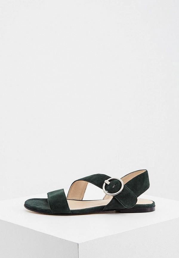 женские сандалии jonak, зеленые
