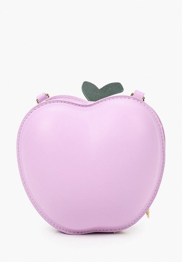 женская сумка через плечо артми, фиолетовая