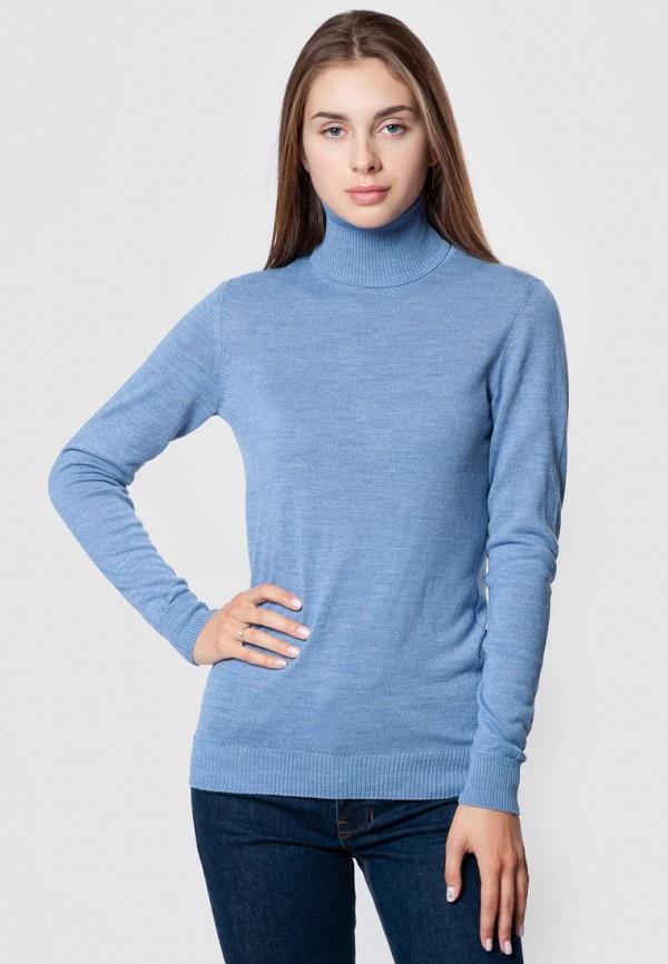 женская водолазка arber, голубая