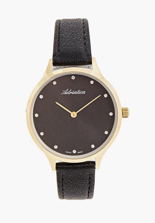 женские часы adriatica, черные