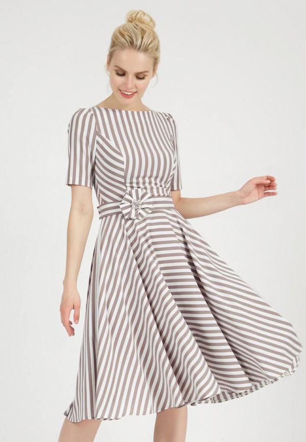 женское повседневные платье olivegrey, бежевое