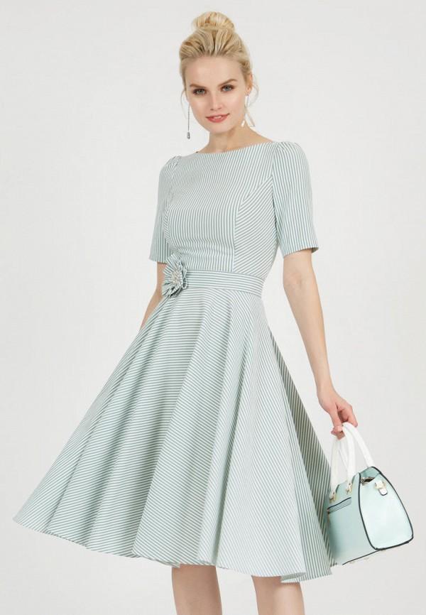 женское повседневные платье olivegrey, зеленое
