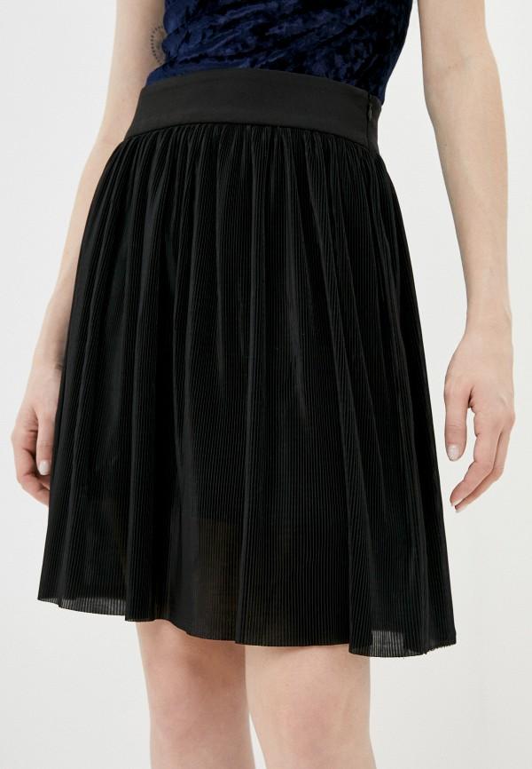 женская плиссированные юбка shovsvaro, черная