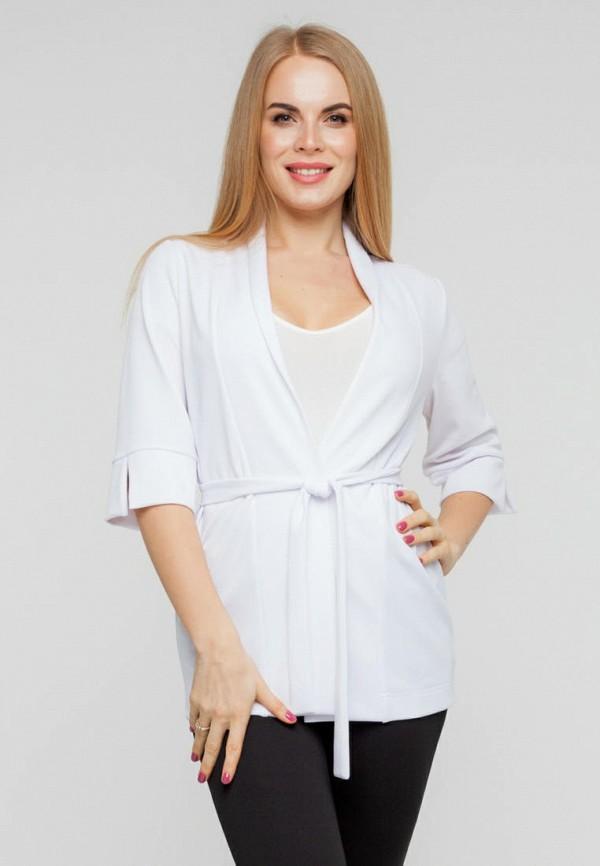 женский жакет текстиль хаус, белый