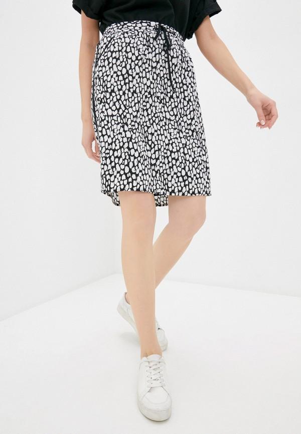 женская прямые юбка baon, разноцветная