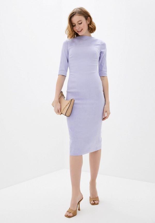 женское платье-футляр ruxara, фиолетовое